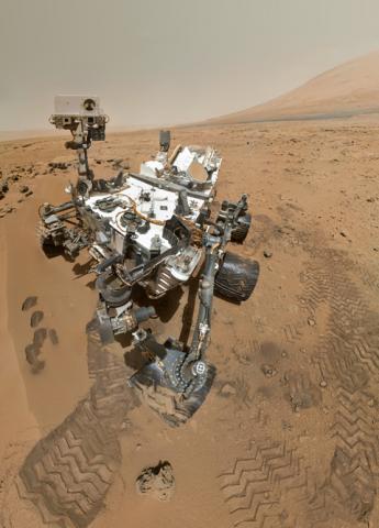 宇宙ミッション、NASAの火星探査機、キュリオシティ (curiosity)もう3年目