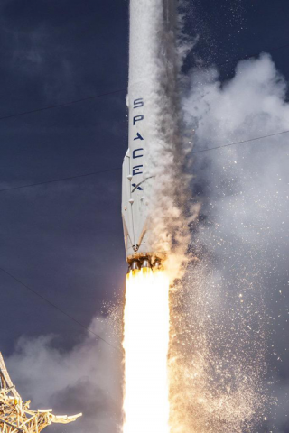 SpaceXのFalcon9の打ち上げ